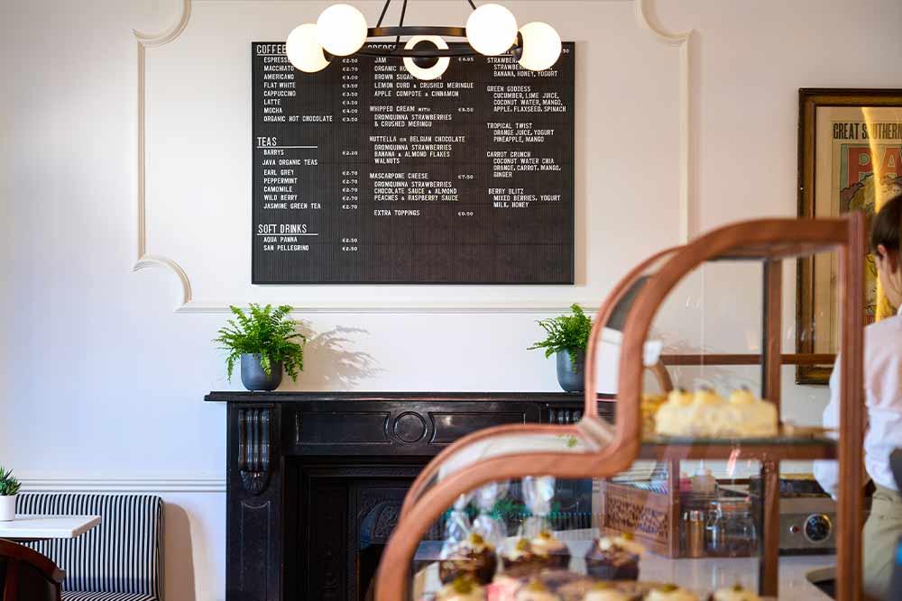 LK Café | The Lansdowne Hotel Kenmare